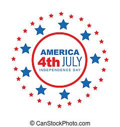 amerikanische , 4. juli