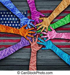 amerikanische , andersartigkeit