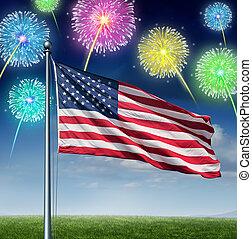amerikanische , feier
