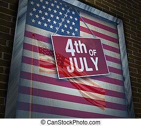 amerikanische , feiertag