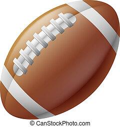 amerikanische footballkugel