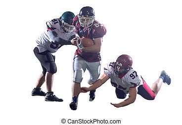 amerikanische , fußball- spieler, handlung