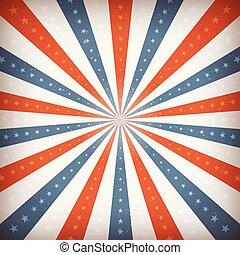 amerikanische , juli, hintergrund, viert
