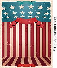amerikanische , juli, -, viert, hintergrund