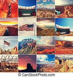 amerikanische , landschaften