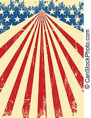 amerikanische markierung, hintergrund, dreckige