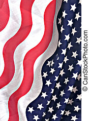 amerikanische markierung, stoff