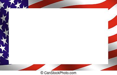 amerikanische , rahmen