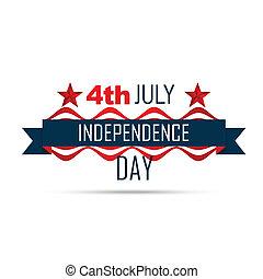 amerikanische , tag, unabhängigkeit