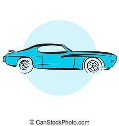 Amerikanischer Muscle Car
