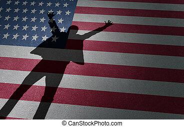 amerikanka mają sen, powodzenie