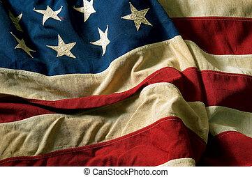 amerikansk. flag