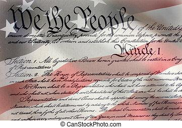 amerikansk flagga