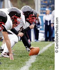 amerikansk fodbold, offensiv, lineme