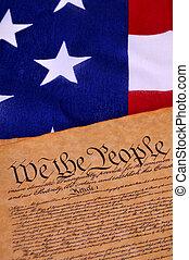 amerikansk. forfatning