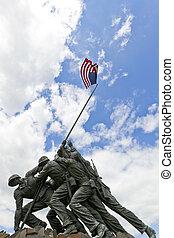 amerikanska marina corps krigar minnesmärke