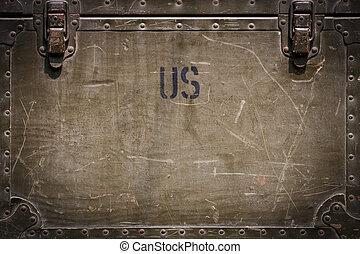 amerikanskt. militær, baggrund