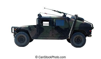 amerikanskt. militær, køretøj, lobster, h1