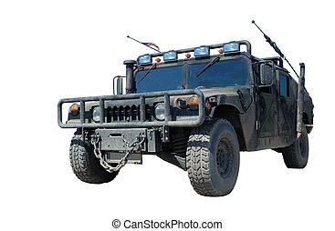 amerikanskt. militær, lastbil, lobster, h1, humvee