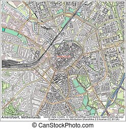 Amersfoort Netherlands city map