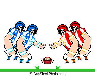 amerykańska piłka nożna, drużyny