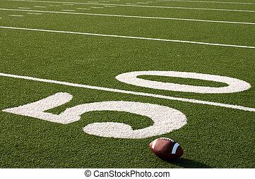 amerykańska piłka nożna, na, pole