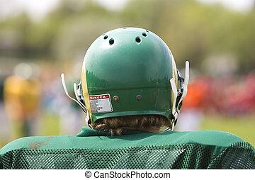 amerykański futbolowy gracz