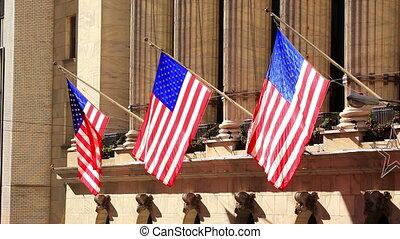amerykańskie bandery