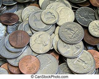 amerykanka, monety