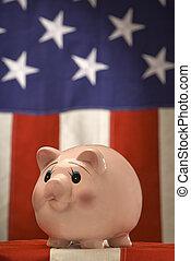 amerykanka, piggy bank 2