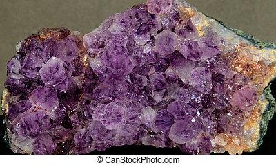 Amethyst Crystals.