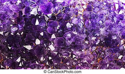 Amethyst Crystals ..