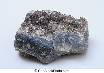 Amethyst quartz stone