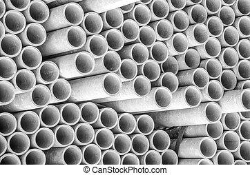amianto, canos, construção