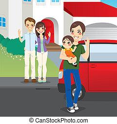 amicably, divorciado, família