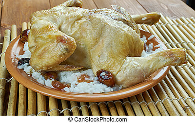 Armenian chicken - amich - Armenian chicken with rice and...