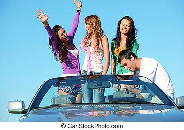amici, automobile