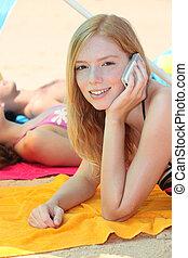 amici, spiaggia