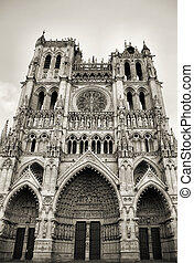 Amiens cathedral in Picardy, France - UNESCO World Heritage Site