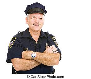 amigável, policial