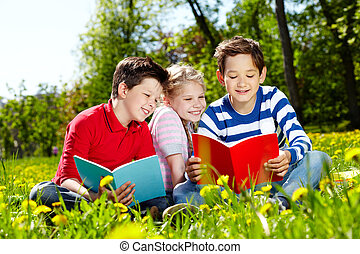 amigos, lectura