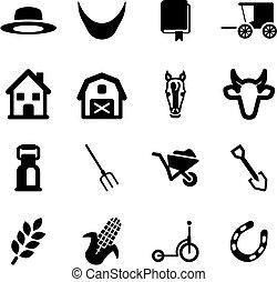amish, ícones