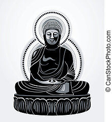 amitabha, bouddha