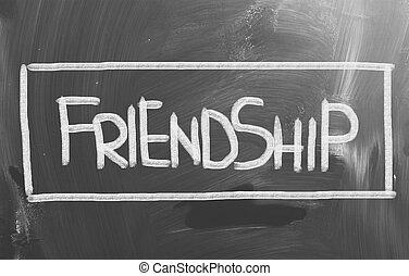 amitié, concept