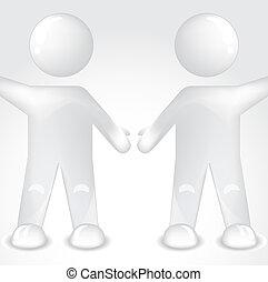 amitié, icônes