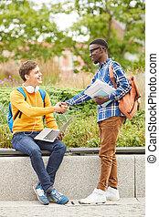 amitié internationale, collège