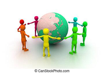 amitié, mondiale