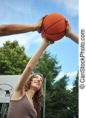 amitié, &, sport