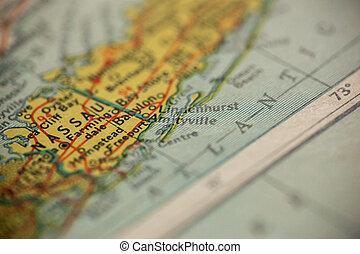 Amityville New York Map