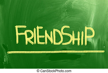amizade, conceito